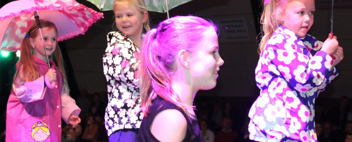 S.V. Harfsen afdeling Gymnastiek geeft kleur aan uitvoering!