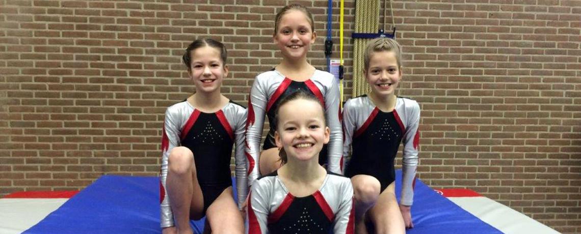S.V. Harfsen Gymnastiek organiseert 6e divisie wedstrijd turnen