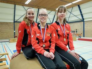 Turnsters Arla, Meike en Janneke 6e divisie