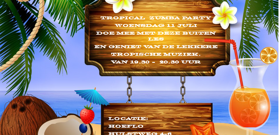 Tropical Zumba Party