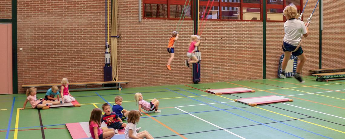 Lekker gymmen bij SV Harfsen Gymnastiek en Graaf Jantje!
